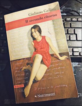 """""""Il secondo ritorno"""" cover Giuliano Gallini Nutrimenti Edizioni"""